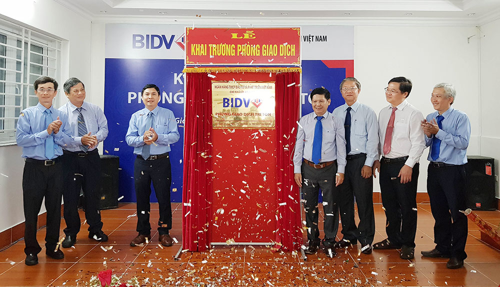 Rite of opening Tri Ton Transaction Office